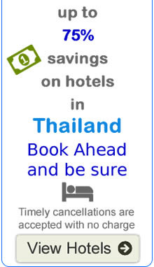 Discounted hotels Thailand